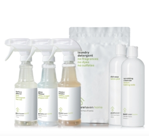 Pure Haven's cleaning bundle